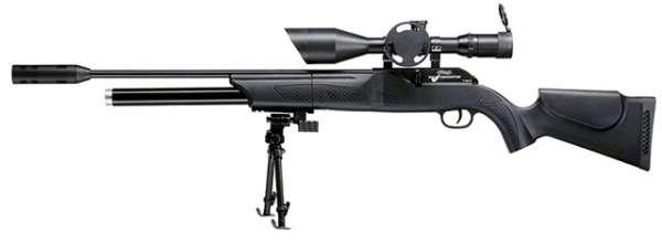 Walther 1250 FT Dominator mit Schalldämpfer