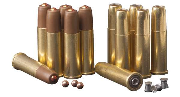 Crosman Co² Revolver Ersatzhülsen 4,5mm (.177) Diabolo 6 Stück (Art.Nr. CR00227)
