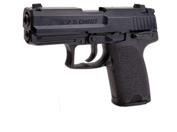 Schreckschusspistole IWG SP15 Compact 9mm P.A.K. brüniert