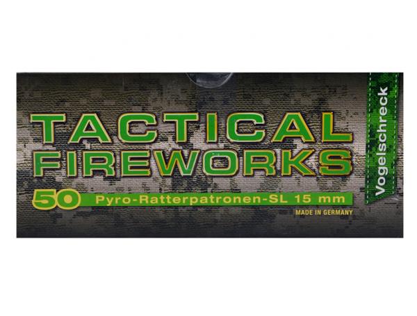 Tactical Fireworks Pyro Cracker SL 15mm-50 Stück Vogelschreck
