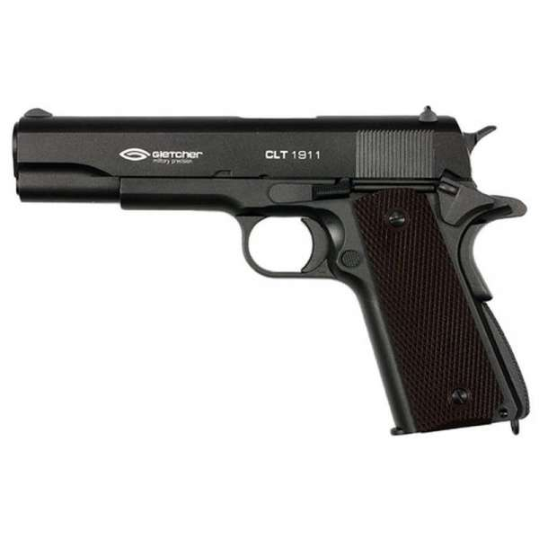 Gletcher CLT 1911 Schwarz CO2 Luftpistole 4,5mm BB