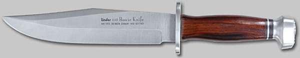 Bowie-Messer, 440A rostfr., Klinge 20 cm