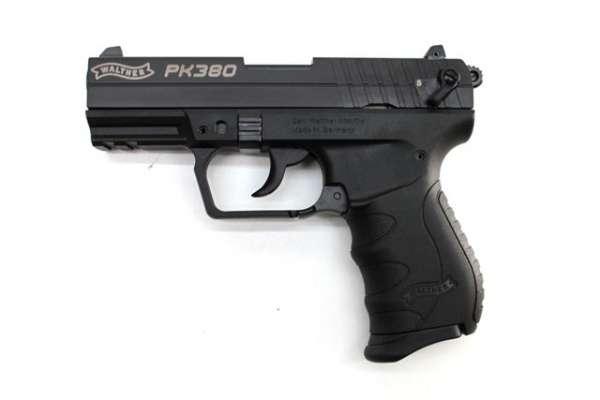 Walther PK380 schwarz