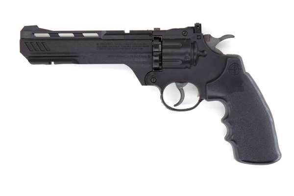 Crosman Vigilante CO2 Revolver 4.5mm (.177) Diabolo und BB (Stahlrundkugeln)