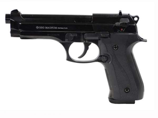 GSG Magnum Schreckschusspistole / Gaspistole, schwarz