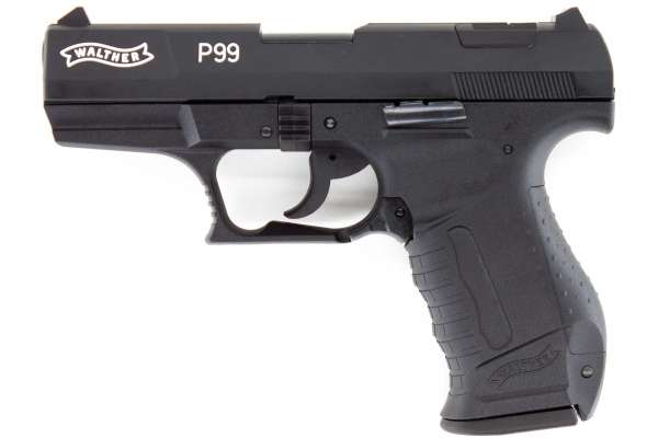 Walther P99 Schreckschuss Pistole 9mm PAK brüniert, Ansicht 1