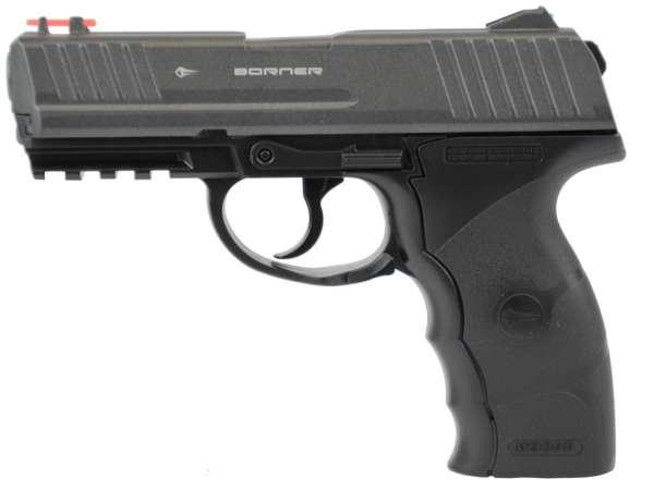 Borner WM 3000P CO2 Pistole, Air Pistol, 4,5mm (.177) BBs