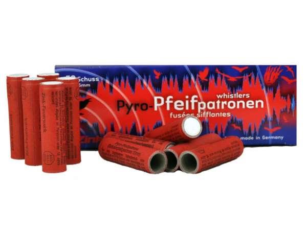 Zink Feuerwerk: Pyro-Pfeifpatronen, Whistler, Kaliber: 15 mm, 50 Stück
