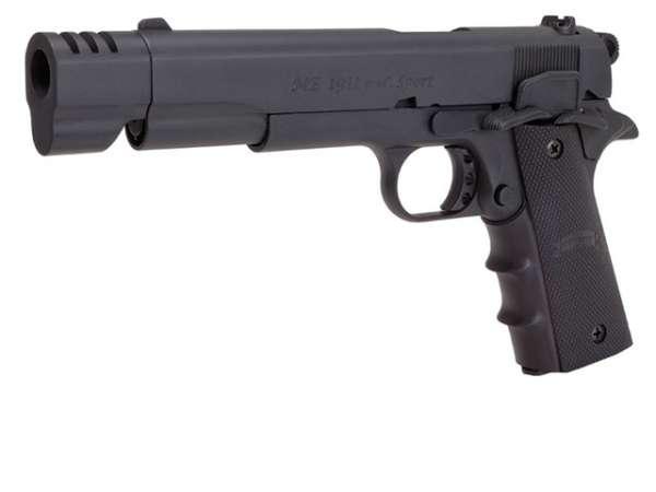 Schreckschusspistole ME Mod. 1911 Sport 9mm P.A.K. matt brüniert