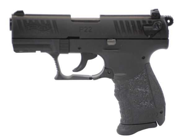 Walther P22Q Schreckschuss Pistole 9mm P.A.K. schwarz