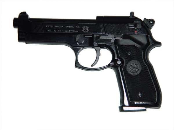 Beretta M 92 FS, schwarz brüniert, C02 Pistole