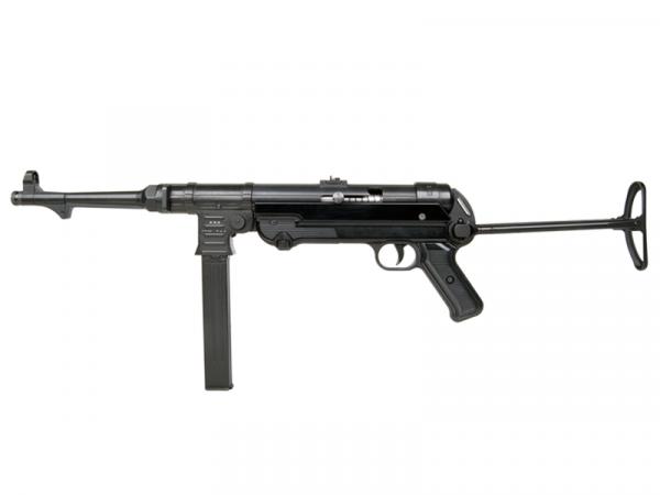 Schreckschuss Maschinenpistole MP 40 9mm P.A.K. brüniert