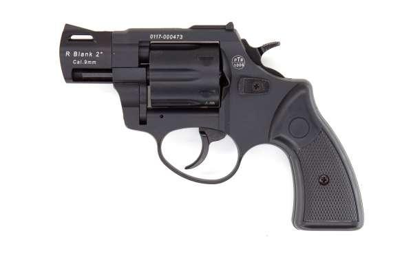 """Zoraki R2 2"""" Schreckschuss Revolver Kaliber 9 mm R.K. brüniert schwarz"""