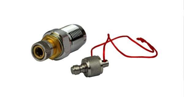 Frist Strike Pressluft DIN Adapter mit Schnellfülladapter