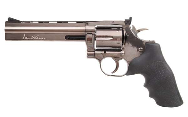 "Dan Wesson 715 6"" CO2 NBB Stahlgrau"