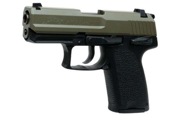 Schreckschusspistole IWG SP15 Compact 9mm P.A.K. oliv