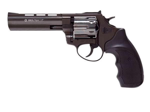 """Schreckschussrevolver GSG Viper 4,5"""" 9mm R Knall schwarz"""