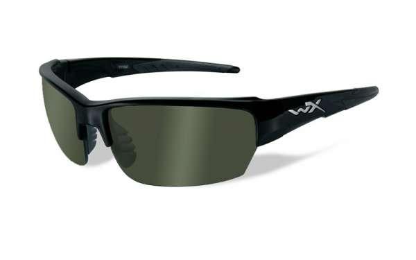 WileyX Saint R: glänzend schwarz