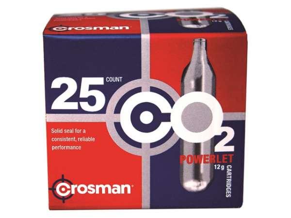 Crosman CO2-Kapseln 12g 25 Stück