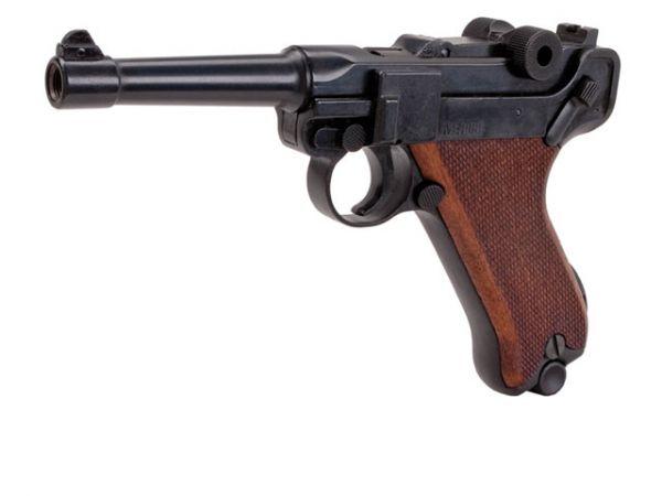 Schreckschusspistole ME Mod. P08 9mm P.A.K. brüniert