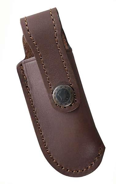 Leder-Etui, braun, für Messer mit 10 cm Heftlänge