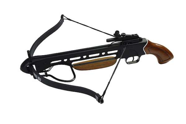 Armbrust Elk, 150lbs., Pistolengriff, Holzschaft