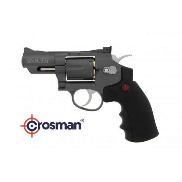 Crosman SNR357 , schwarz, CO2, Kal. 4,5mm, BBs oder Diabolo