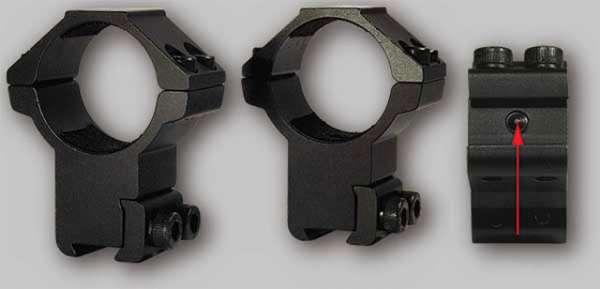 2-fach Montage, ø25,4mm