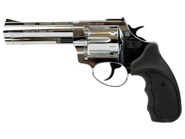 ZORAKI R1 4,5 Zoll Schreckschuss Gas Signal Revolver Kaliber 9 mm R.K. chrom