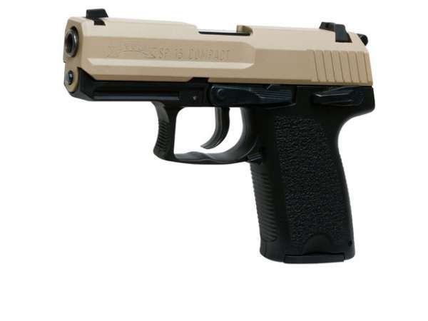 Schreckschusspistole IWG SP15 Compact 9mm P.A.K. sand