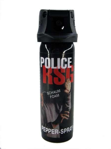 Police RSG Pfefferschaum-Abwehrsspray