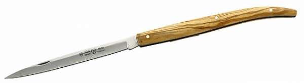 Nieto Taschenmesser, Stahl AN.58, Olivenholz, Heftlänge 12 cm