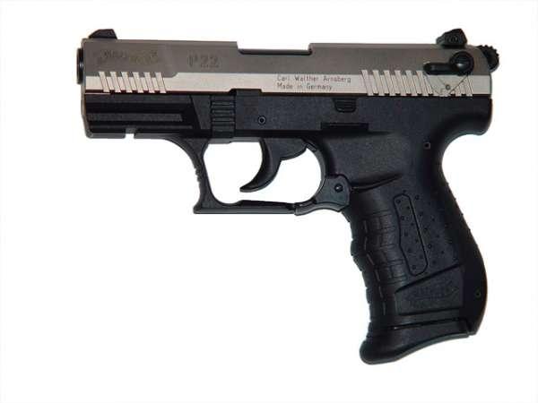 Walther P22 Schreckschusspistole / Gaspistole, bicolor