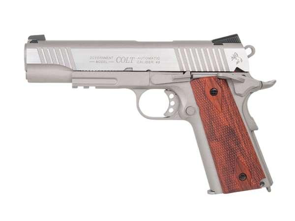 Colt 1911 Railgun Stainless CO2 BB