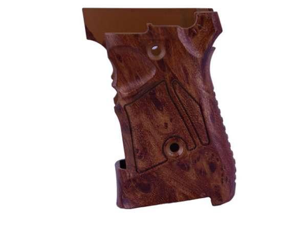 Griffschalen für Schreckschusspistole Zoraki 914 - Holzoptik
