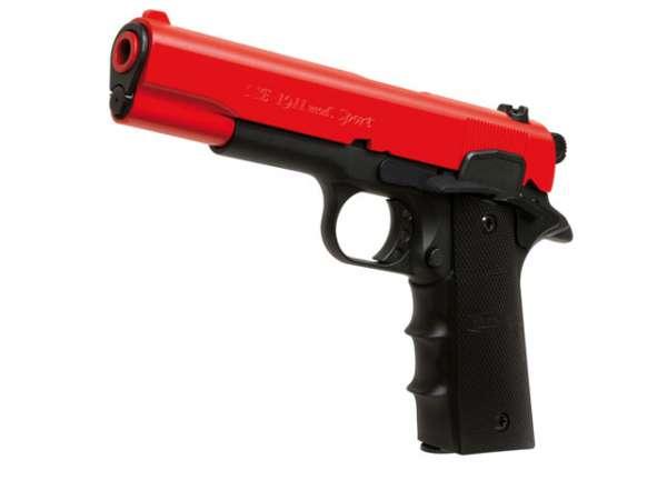 Schreckschusspistole ME Mod. 1911 Sport 9mm P.A.K. red black