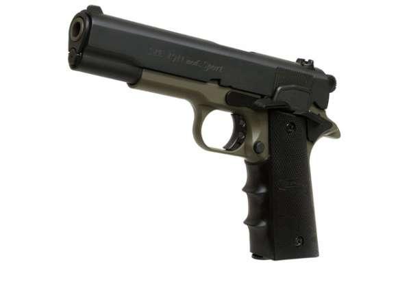 Schreckschusspistole ME Mod. 1911 Sport 9mm P.A.K. black oliv