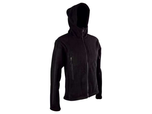 Fleece Jacke Tactical Gr. S schwarz