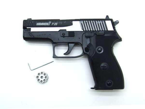 Hämmerli P26 Co2 Pistole - Dark Ops
