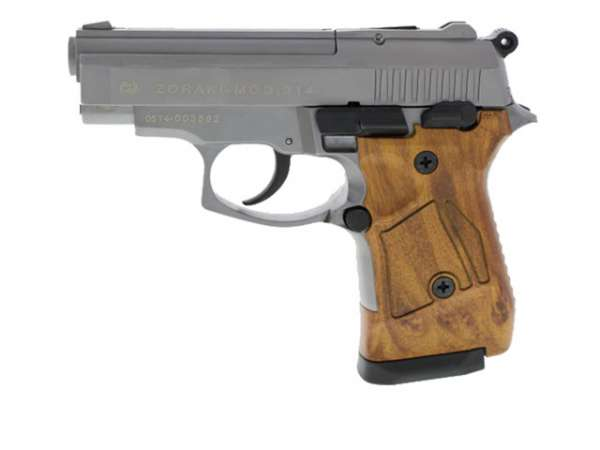Zoraki 914 Schreckschusspistole / Gaspistole titan HG-Optik