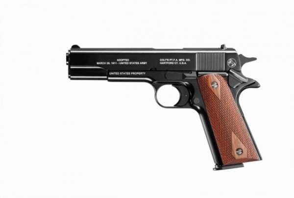 Colt M1911 100 Jahre, Kaliber 9 mm P.A.K.