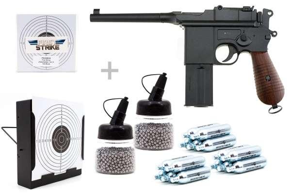 Gletcher M712S CO2 Pistole 4,5mm BB