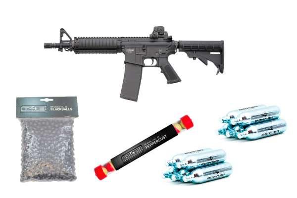 Homedefense SET: RAM T4E TM4 CO2 RAM Gewehr Kal. .43 + 500 Rubberballs + 10 Pepperballs + 10 Co² Kapseln