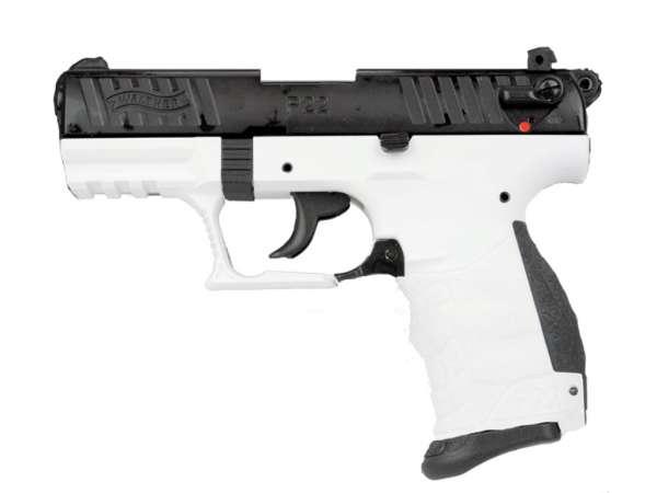 WALTHER P22Q Schreckschuss Pistole Gas Signal Alarm Pistole Kaliber 9 mm P.A.K. Chess