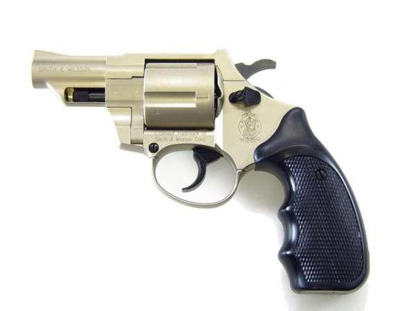 Smith&Wesson Combat Gas Revolver vernickelt