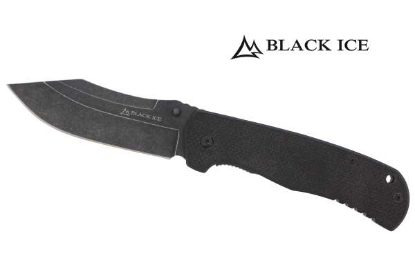 BLACK ICE Einhandmesser Njola II