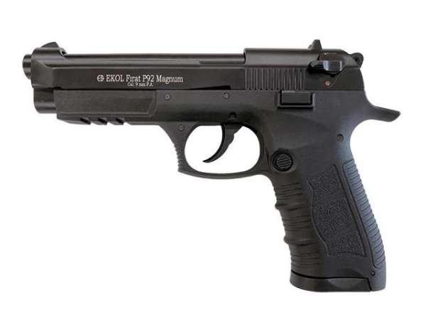 Ekol P92 Magnum Schreckschuss Pistole Gas Pistole Alarm Pistole 9 mm P.A. Knall (Foto 1)
