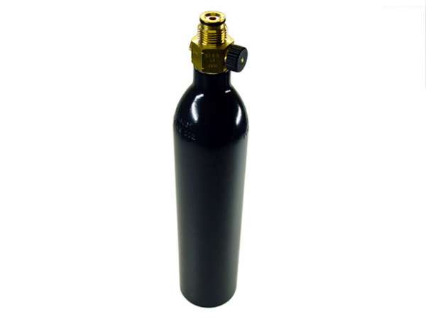 12oz CO2-Tank mit ON/OFF Ventil