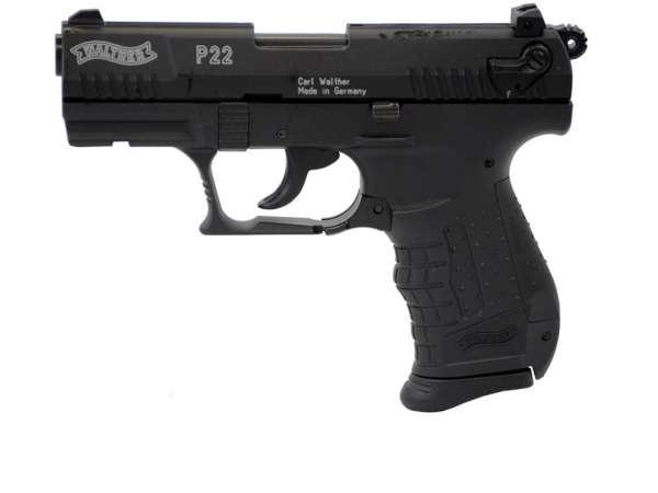 Walther P22 Schreckschusspistole / Gaspistole, schwarz