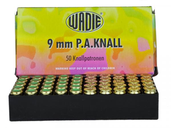Platzpatronen Wadie 9mm P.A.K.
